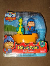 Fisher Price Mike The Knight-Mike & Squirt Bath Buddies-New In Package