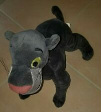 Disney Store Bagheera Plush Stuffed Animal Jungle Book Black Panther Rare Cat