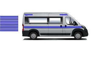 (No.815) Camper Van Graphics, Motor Home Vinyl Graphics Decals / Stickers