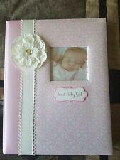 Baby Memory Book Girl Cr Gibson