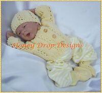 Honeydropdesigns * Springtime Cardigans * PAPER KNITTING PATTERN * Reborn/Baby