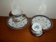 lot de 2 tasses de collection en porcelaine, décoration d'artiste  04   *T3