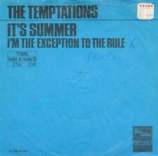 "TEMPTATIONS - It's summer (1971 DUTCH MOTOWN VINYL SINGLE 7"")"