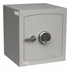 Securikey Mini Vault Silver S2 Size 3 Keypad Operated Safe - £4K Cash Rating