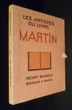 Les artistes du Livre. Charles Martin