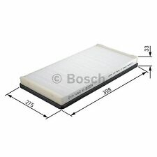 BOSCH Activated Carbon Cabin Filter 1987432482 - Single