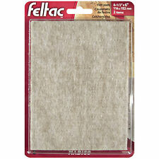 Madico FELTAC FLOOR SAVERS 114x152mm 2Pcs Adhesive, Self-Stick Protection BEIGE