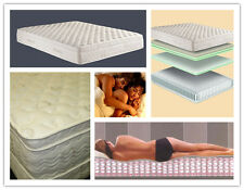 Deluxe Comfort Euro Top Pocket Spring Queen Mattress Free Shipping in Sydney