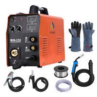 HITBOX 220V MIG Welder MIG Gas Gasless Stick MMA Lift TIG Welding Machine