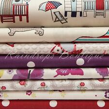 100% cotton fabric, Quilting weight Children & Floral by the metre or 1/2 metre