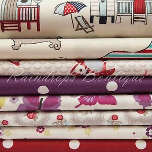 100% cotton fabric, Quilting material  Children & Floral per metre or 1/2 metre