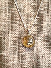 Bumble Bee I Necklace by Cynthia Cochran