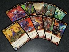Complete World of Warcraft 2012 Champion Deck Epic Promo Card Set WoW Tcg Ccg