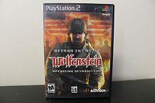 Return to Castle Wolfenstein: Operation Resurrection  (Sony PlayStation 2, 2003)