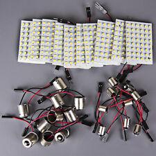 10x RV Trailer 48-SMD Warm White 12v High Power LED Light Panel+1156 BA15S+BA9S