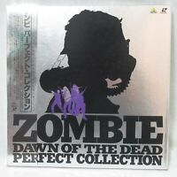ZOMBIE DAWN OF THE DEAD Perfect Collection Laserdisc Box set Japanese Subtitles