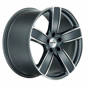 ALLOY WHEEL MAK TURISMO-D-FF FOR PORSCHE CAYENNE COUPE STAGGERED 9YA 11.5x21 2fb