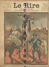 1a guerra-Le Rire-Rouge-Edition de guerre du Journal..1918( Golgotha)