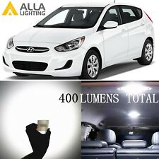 Alla Lighting Dome Interior Light 6000K DE3175 White LED Bulbs Lamps for Hyundai