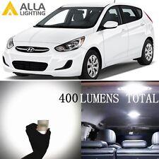 Alla Lighting Dome Interior Light 6000k De3175 White Led Bulbs Lamps For Hyundai