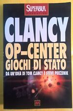 LIBRO TOM CLANCY - OP-CENTER GIOCHI DI STATO - SUPER BUR RIZZOLI 2000