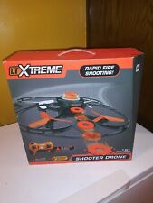 LTXtreme Shooter Drone with 20 Shooter Discs, &1 touch rapid fire remote control