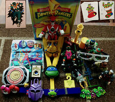 Mighty Morphin Power Rangers, TMNT, BeetleBorgs Metallix, & VR Troopers Bundle