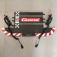 Carrera Evolution 132 Anschlussschiene, Startschiene & 2x  Handregler 20709