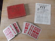 1903 Game of Pit in Box with Instructions