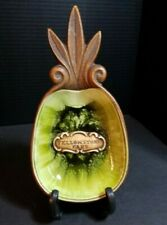 Vintage Treasure Craft Spoon Rest Yellowstone Park 1969 Pineapple