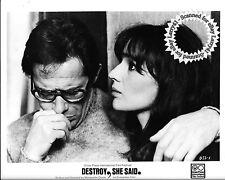 Lot of 5a, stills DESTROY, SHE SAID (1969) Detruire, Dit-Elle, Sellers, Lonsdale
