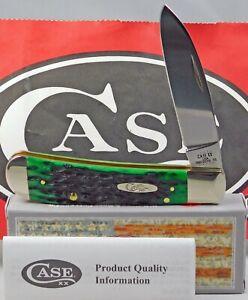 Case XX Bose Kentucky Bluegrass Bone Peach Seed Jig Tribal Lock Knife
