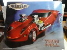 Hot Wheels Legends to Life Red Twin Mill Box Not Absolutely Perfect