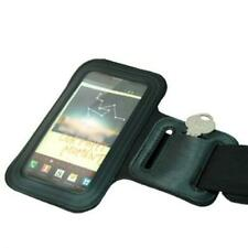 BLACK ARMBAND SPORTS GYM WORKOUT COVER CASE RUNNING ARM STRAP for SMARTPHONES