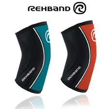 Rehband RX Elbow Support Sleeve 5mm Thick Crossfit Weightlifting Powerlifting