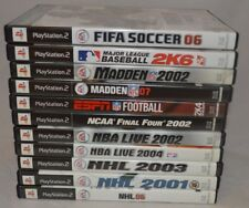 Lot Of (11) Sports PlayStation 2 Games