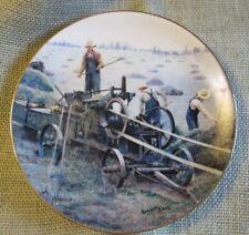 1990 Danbury Mint~Bailing Hay~Emmett Kaye~Farming The Heartland Collection