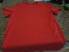 Izod Cool FX Athletic Shirt - Red - Small