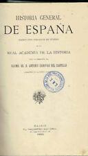 Historia General de España, tomo I. Geología y Protohistoria ibéricas.