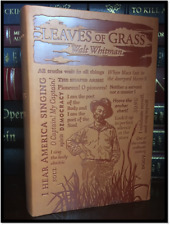 Leaves of Grass by Walt Whitman Brand New Textured Soft Leather Feel Collectible