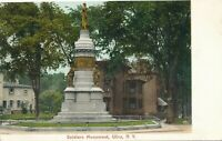 UTICA NY – Soldiers Monument – udb (pre 1908)