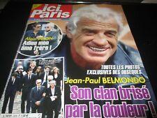 "REVUE ""ICI PARIS N°3976 - 2021"" Jean-Paul BELMONDO, Renaud, Columbo, ..."