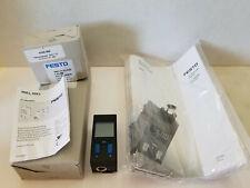 Festo SDE1-V1-G2-H18-C-P1-M8 Pressure Sensor with Display - NIB