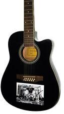 Tesla Autographed Signed 12 String Acoustic Electric Guitar AFTAL