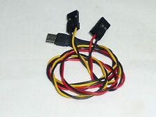 Cable Connexion Video + Alim pour Camera FPV avec port Micro USB