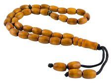 Tasbih Misbaha, islamischer Rosenkranz, muslimische Gebetskette - Holz (TG00330)