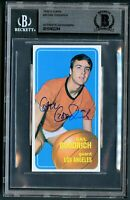 Gail Goodrich #9 signed autograph auto 1970-71 Topps Basketball Card BAS Slabbed