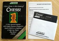 How a About Nice Game Chess by Odesta 5.25 disk for Apple II+,IIe,IIc,IIgs 1984