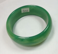 59MM VERY FINE RARE NATURAL GREEN JADEITE JADE BRACELET BANGLE