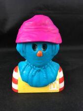 Ronald McDonald with Scarecrow Mask Halloween  McDonalds Happy Meal 1998